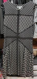 Polka dot pin up dress size M Danny & Nicole
